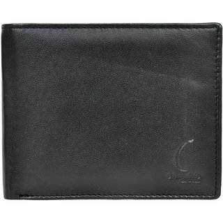 Chandair Pure Leather Black Mens Wallet (CH-NW-07)