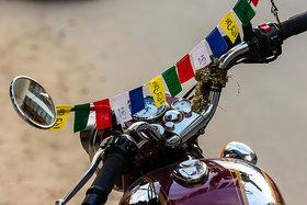 SCORIA Buddhist Tibetan Prayer flag for bike