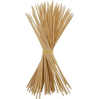 Pin to Pen Tandoor Wooden Sticks Thick (12 inch, Pack of 40)
