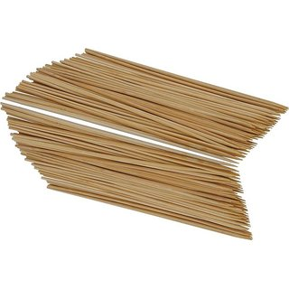 Pin to Pen Tandoor Wooden Sticks Thin (8 inch Pack of 50)