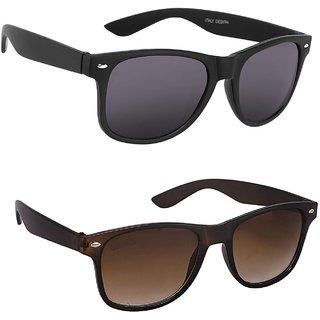 8dca51ec638 Buy Iliv Multicolour Uv Protection Wayfarer Unisex Sunglasses (Combo) Online  - Get 77% Off