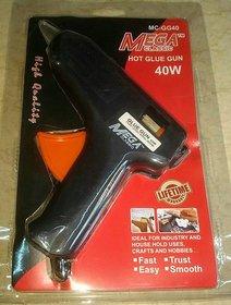 MEGA PROFESSIONAL HOT GLUE GUN 40W + 10 BIG GLUE STICKS FREE (NEW PACKING)