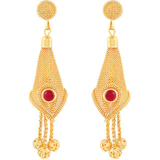 MJ Striking Gold Plated Dangler Earring For Women