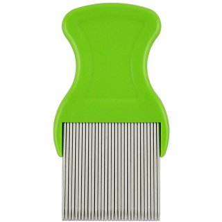 Quality Deal High Quality Head Lice comb Nit Lice remover tool for hair lice treatment professional
