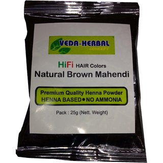 Veda Herbal Concept-Brown Hair Color - 10pcs x 25g