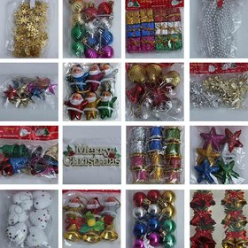UNIQUE- 150 PCS CHRISTMAS TREE DECORATION ITEMS TO DECORATE YOUR CHRISTMAS TREE