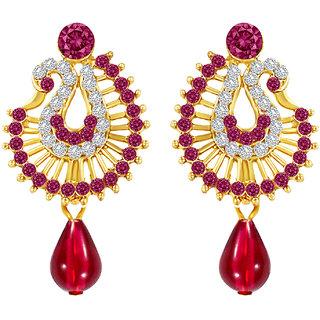MJ Flawless Gold Plated Dangler Earring For Women