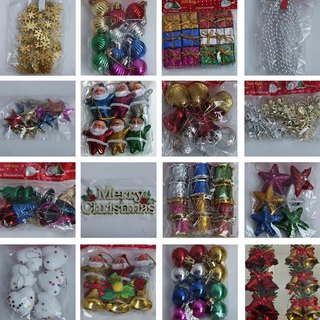 Buy Unique 150 Pcs Christmas Tree Decoration Items To Decorate Your
