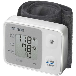 Omron HEM-6121 Blood Pressure Monitor Wrist Type with 5 year extended warranty