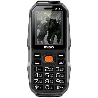 Mido M11+ (Dual Sim, 1.8 Inch Display, 1200 Mah Battery, Black)