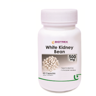 Biotrex White Kidney Bean Extract - 500mg (60 Capsules)