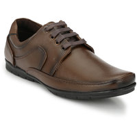 HNT Men'S Olive Lace-Up Derby