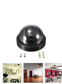 Tuzech Mini Dummy Security Camera Flashing Light Safety Crime Home Business Fake