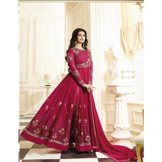 Fashionuma Designer Latest Georgette Embroidred Anarkali Salwar Suit