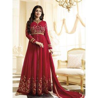 Fashionuma Designer Latest Georgette Embroidred Anarkali Salwar Suit