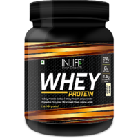 INLIFE Whey Protein Powder 1 Lbs(Vanilla Flavour) Body
