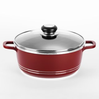 Sumeet Die Cast Casserole 200 mm With Glass Lid (No. 12) (Capacity 2.2 Ltr)