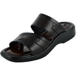 b742edb0550d Buy Chamois Mens Black Slippers Online - Get 68% Off