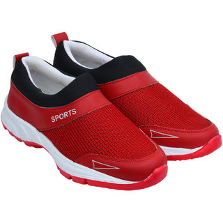 buy kzaara red 025 stylish casual shoes for men online