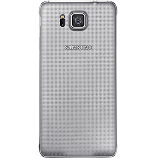 SAMSUNG GALAXY ALPHA  BACK PANEL COVER (BLACK)