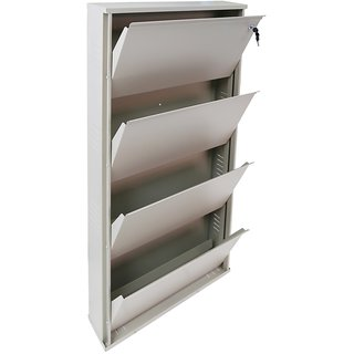 Peng Essentials Foldable Shoe Rack 4 Level 24 Inches Wide
