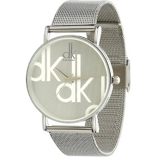DK Choice Beautiful Silver Colored Analog Watch For Girls By Prushti