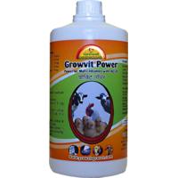 Growvit Power- Multi Vitamins for  Birds  Farm Animals -500 ml.