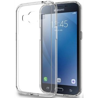 low priced 299c0 7cfec Buy Samsung Galaxy J2 Pro Transparent Back Cover Online @ ₹79 from ...