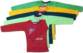 Kids T Shirt Full Sleeves (Combo of 5)