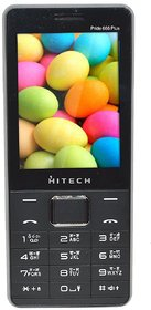 Hitech Pride 666 Plus 2.8 Big Display 5000 mAh Big Battery with Power Bank Feature