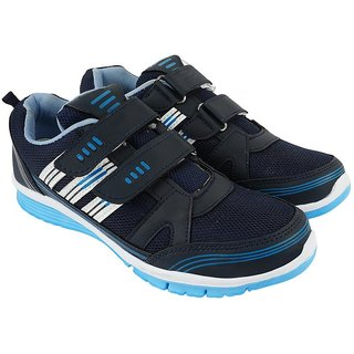 JPS TRADERS Navy Blue Running Shoes