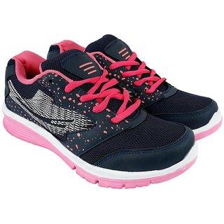 JPS TRADERS Black Pink Running Shoes