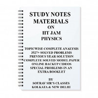 STUDY MATERIALS FOR IIT JAM PHYSICS 2018 WITH TOPIC WISE ANALYSIS