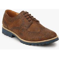 San Frissco Derby Brogue Lifestyle Shoes-HOA