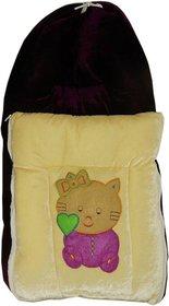 GTC Baby Velvet Sleeping Bag Cum Baby Carry Bag ( 3 Zip)