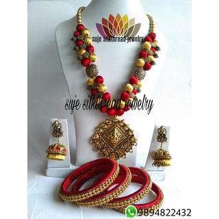 Silkthread jewelry