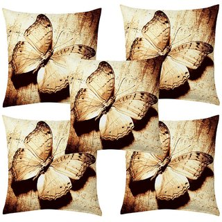 Angel Homes Set of 2 Designer Cushion Covers(16x16 Inches)A046