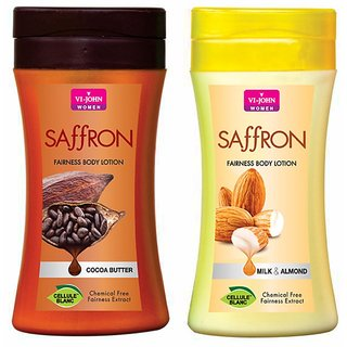 Body Lotion Cocoa Butter Milk Almond 250 ml (Pack of 2)
