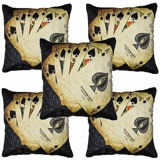 Angel Homes Set of 2 Designer Cushion Covers(16x16 Inches)A050