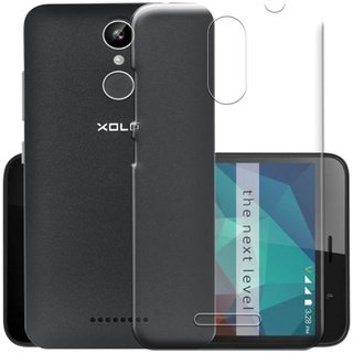 Soft Transparent Back Case Cover Back Cover for Xolo Era 2V
