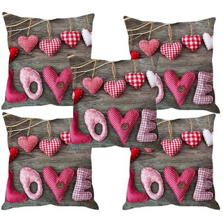 Angel Homes Set of 2 Designer Cushion Covers(16x16 Inches)A059