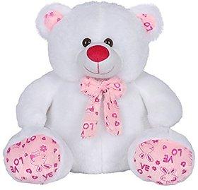 Ultra Snowy Teddy Bear White 15 Inches