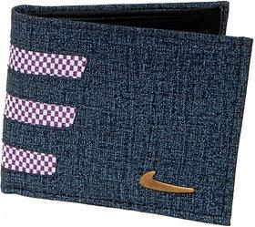 Luxmi Beautiful looking wallet for Men  Boys - grey