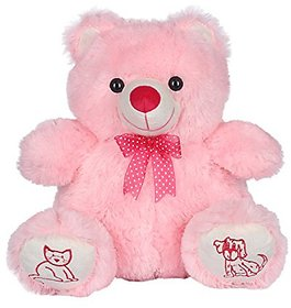 Ultra Love Teddy Bear 15 Inches - Pink