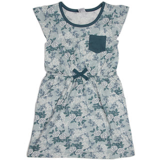 Pikaboo Green pocket dress for Girl (3-4 Years)
