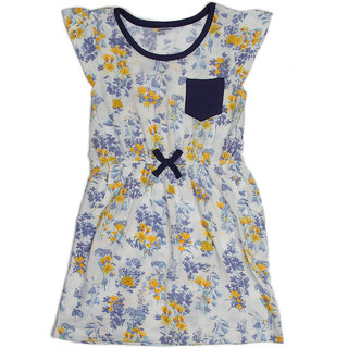 Pikaboo Blue pocket dress for Girl (3-4 Years)