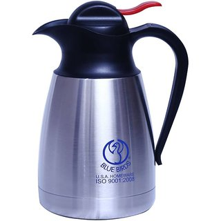 high quality Stainless Thermo Steel Double-Wall Vacuum Insulated Coffee Tea  beverage Coffee Pot  Capacity-1000ml