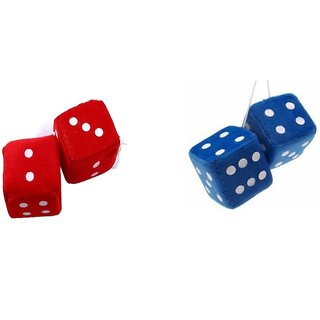 Combo Of Dice Shape (Multiple Colour) Hanging perfume