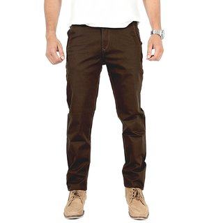 100 Cotton Lycra Slim Fit stretchable Mens AKINS by Uber Urban