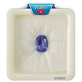 Manu craftsBlue Sapphire Ceylon Quality NEELAM Gemstone 11.25 Ratti / 10.12 CARAT 100  ORIGINAL CERTIFIED NATURAL GEMST
